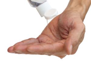 Händedesinfektion/Spenderständer