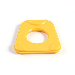Kunststoffartikulationsplatte verw. für Splitex® 100 Stck. gelb