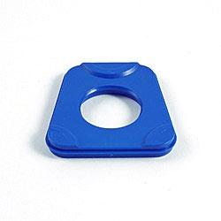 Kunststoffartikulationsplatte verw. für Splitex® 100 Stck. blau