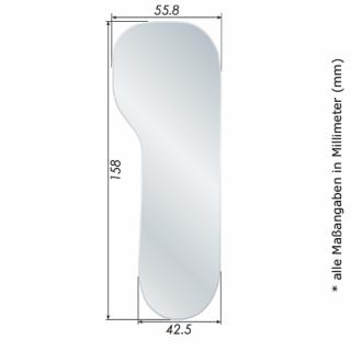 Fotospiegel-Kit ECO+ mit Edelstahl-Spiegel # 02 Front Surface, Erw., Lateral