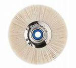 Slimline Bürste Ziegenhaar m. Mikrofaser-Leder