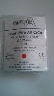 Laser-Draht AR Cr-Co 2m Rolle