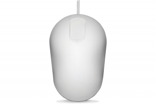 Desinfizierbare Computermaus  mit Touch Scroll USB