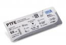 PTFE Nahtmaterial-45cm 4/0, Schwarze Nadel, Taper Cut 16...