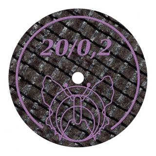 Diamantierte Trennscheiben 20/0,2BF 10 Stück