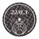 Trennscheiben 22/0,3BF 20Stck.